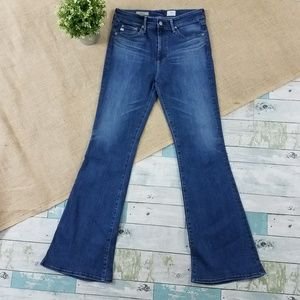 Adriano Goldschmeid Janis High Rise Flare Jeans 29
